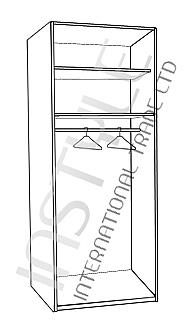 ארון 2 דלתות YUVAL - InStyle