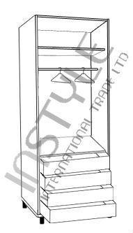ארון 2 דלתות LIAM - InStyle