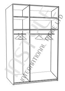 ארון 3 דלתות BASIC - InStyle