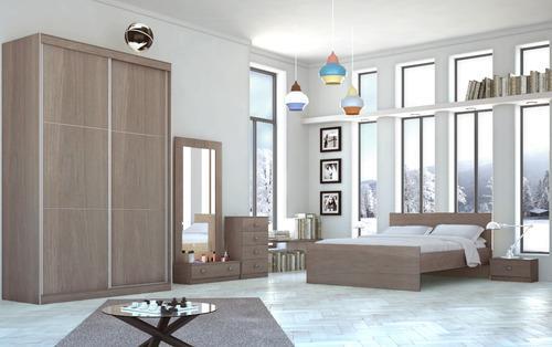 חדר שינה CITY עם ארון הזזה - InStyle