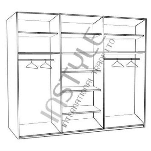 ארון הזזה 3 דלתות GALI 240 - InStyle