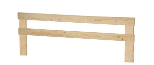 משטח זוגי ALPHA עם מסגרת - InStyle