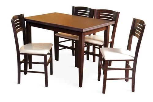 פינת אוכל PADOVA כולל 4 כסאות - InStyle