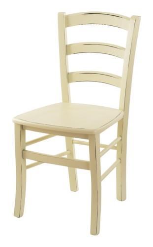 כסא עץ COUNTRY שמנת - InStyle