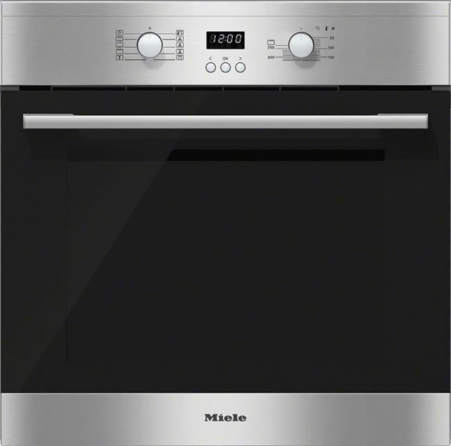 """תנור אפיה בנוי 60 ס""""מ MIELE דגם H2161-1 B - חשמל נטו"""