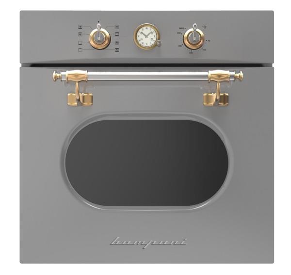 תנור אפיה בנוי אפור פלטיניום BO2456WA - חשמל נטו