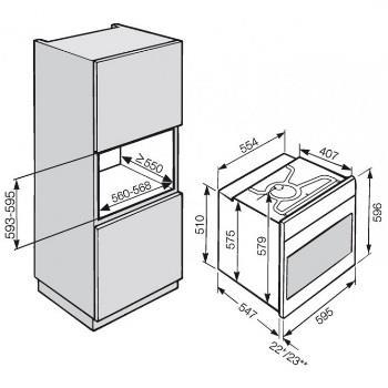 תנור אפיה בנוי MIELE דגם H6260BP - חשמל נטו