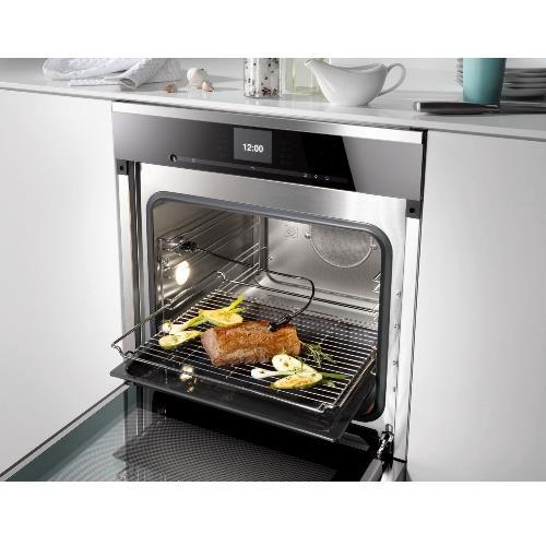 """תנור בנוי 60 ס""""מ אדים משולב אפיה MIELE דגם DGC6660 - חשמל נטו"""