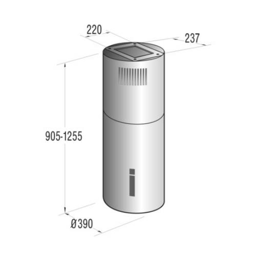 קולט אדים אי מבית GORENJE דגם IDR4545E - חשמל נטו