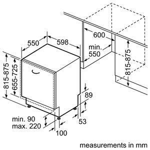 מדיח כלים אינטגרלי מלא מבית BOSCH דגם SMV50M90EU - חשמל נטו