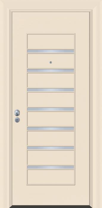 דלת כניסה דגם INOX-4275  - פאנלוס
