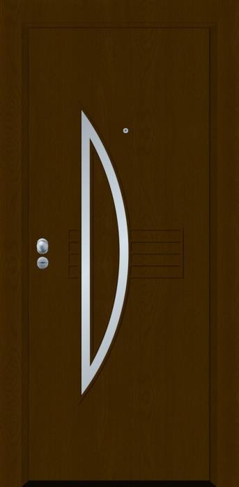 דלת כניסה דגם INOX-4225 - פאנלוס