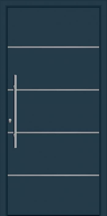 דלת כניסה דגם INOX-1310 - פאנלוס
