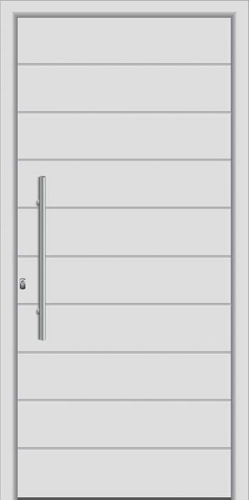 דלת כניסה דגם 1651 - טקני דור