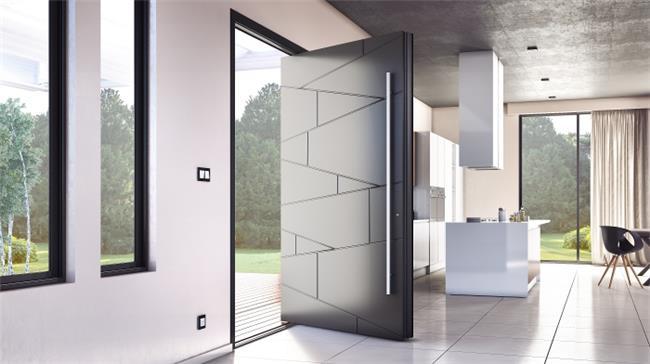 דלת כניסה דגם 1010 - טקני דור