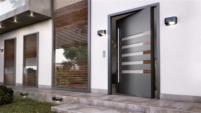 דלת כניסה דגם 1017 - טקני דור