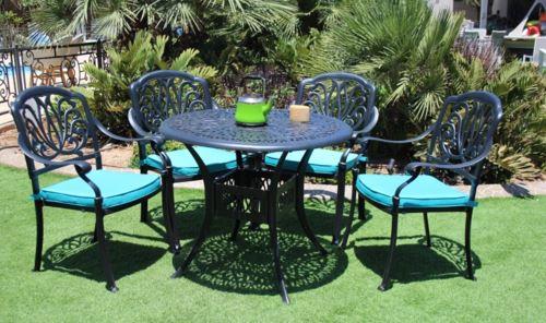 שולחן קפה + 4 כסאות שירין - GARDENSALE