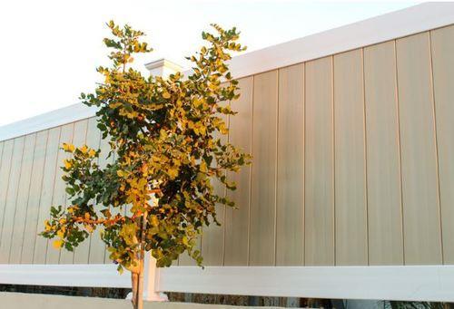 גדר PVC ויניל דגם חרמון גובה מטר צבעוני - GARDENSALE
