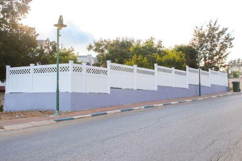 גדר VINYL PVC דגם גלבוע 1.80 מטר - GARDENSALE