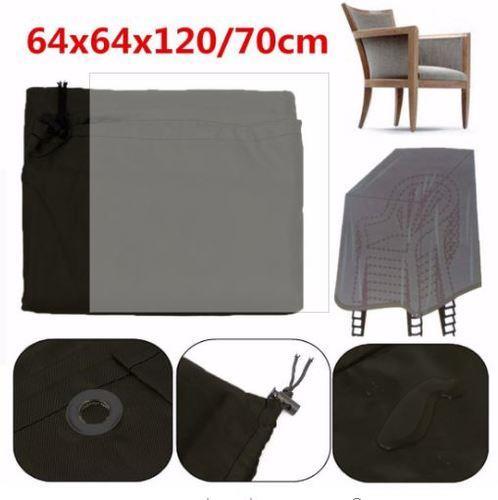 כיסוי ל-6 כיסאות עם ידיות - GARDENSALE