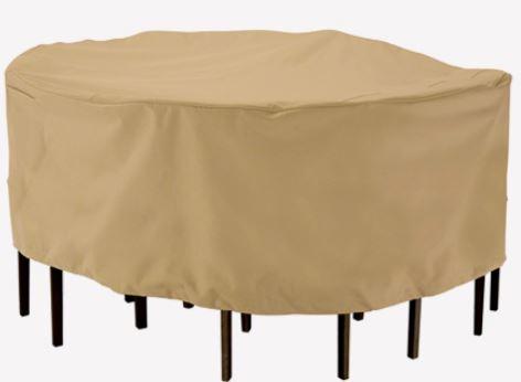 כיסוי שולחן אובלי- מלבני L - GARDENSALE