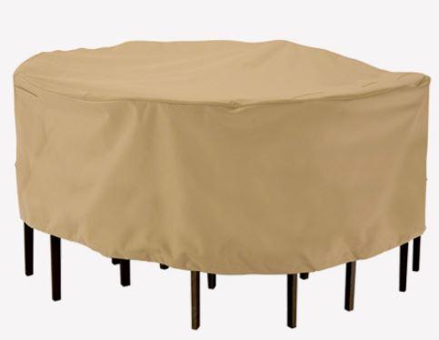 כיסוי שולחן אובלי- מלבני XL - GARDENSALE