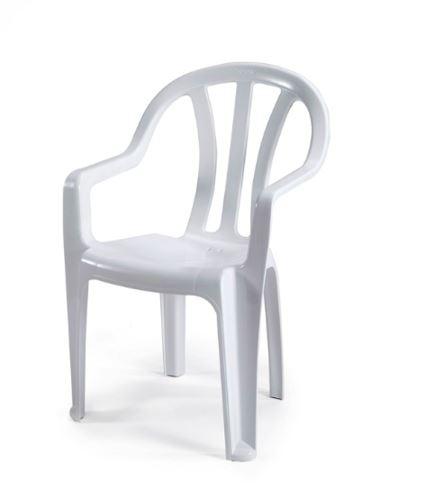 6 כיסאות פלסטיק דגם דליה כתר - GARDENSALE
