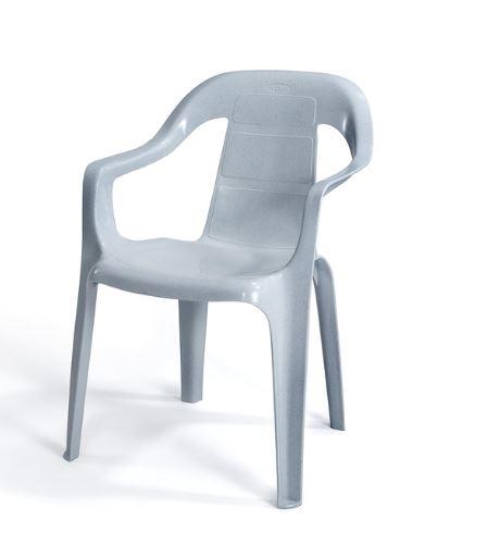 6 כסאות פלסטיק דגם מילי כתר - GARDENSALE