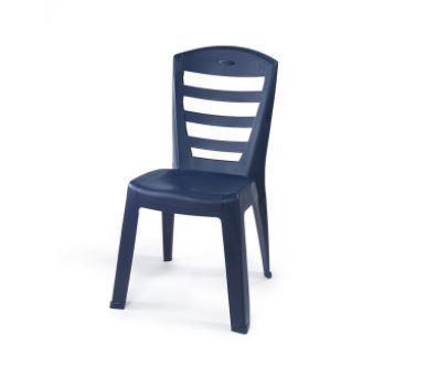 6 כיסאות פלסטיק כתר דגם שירי - GARDENSALE
