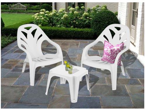 2 כיסאות בריכה + שולחן דגם ניצן - GARDENSALE