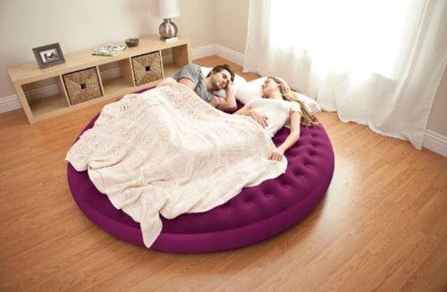מיטת שיזוף עגולה + כרית INTEX  - GARDENSALE