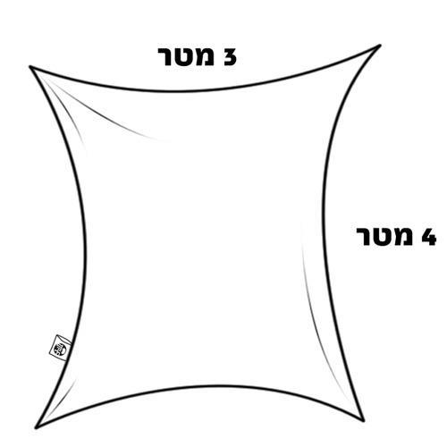 צילייה בד לייקרה 3X4 בשלל צבעים - GARDENSALE