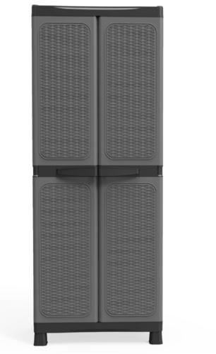 ארון שירות 4 מדפים עם מחיצה רוייאל יבוא - GARDENSALE