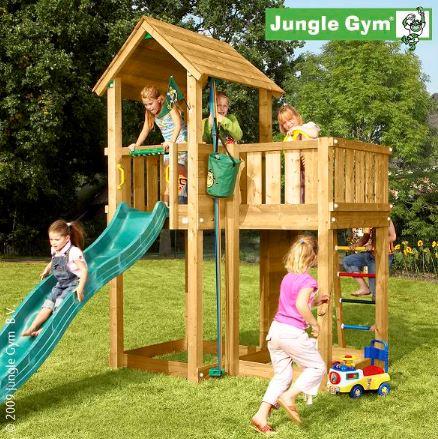 מתקן משחקים לחצר דגם Gym mansion - GARDENSALE