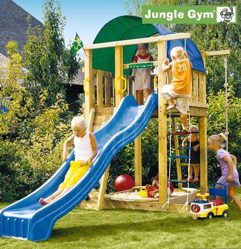 מתקן משחקים לחצר לילדים Gym Villa - GARDENSALE