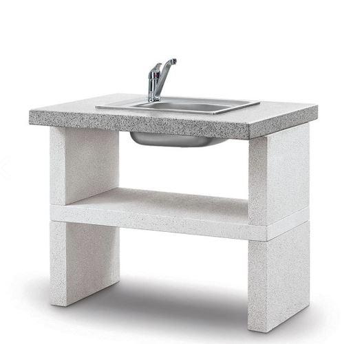 מטבח גינה מאבן דגם בילבאו - GARDENSALE