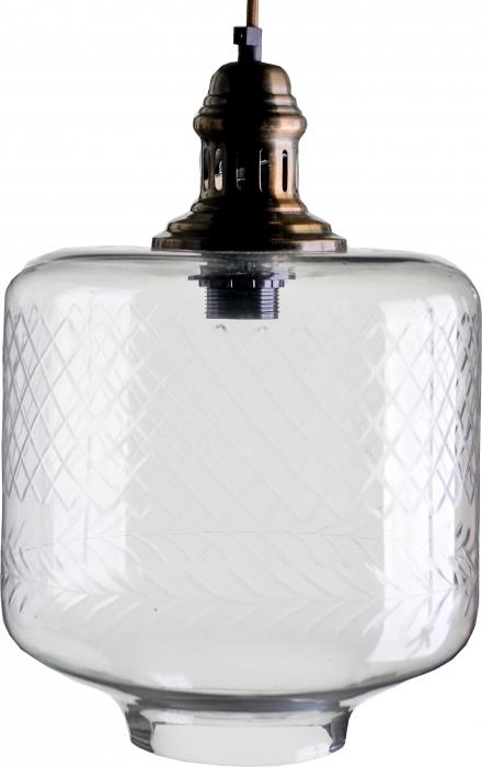 מנורה לתלייה מזכוכית AM307 - הגלריה המקסיקנית