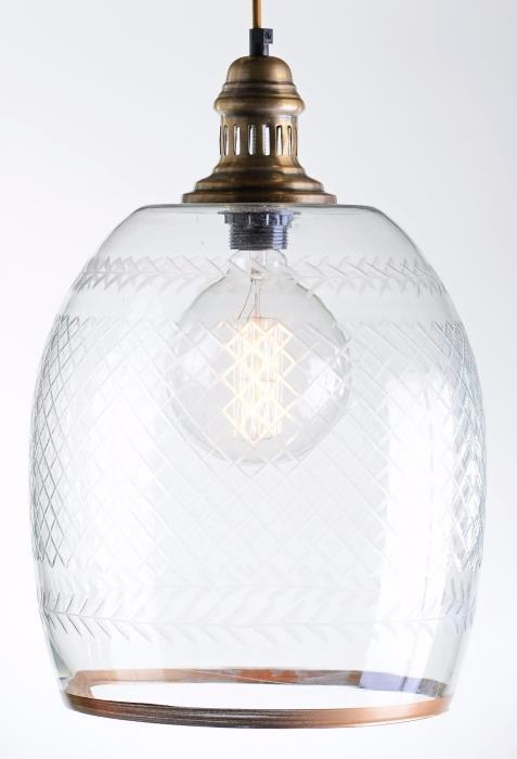 מנורה לתלייה מזכוכית AM290G - הגלריה המקסיקנית