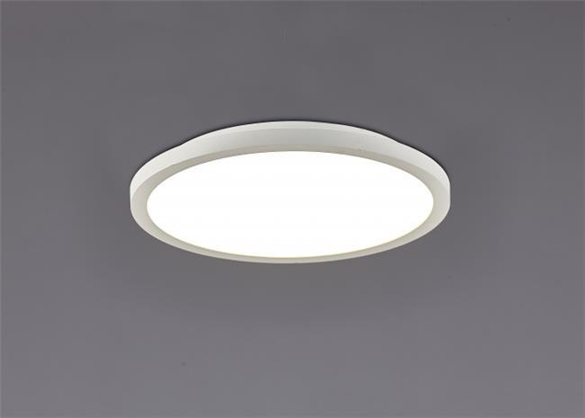 גוף תאורה צמוד תקרה LED לבן - תמי ורפי תאורה מעוצבת