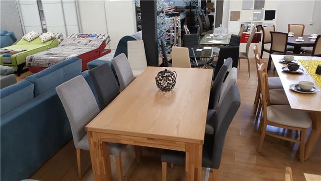 שולחן אוכל בוצ'ר + 6 כיסאות JHON - רהיטי זילבר