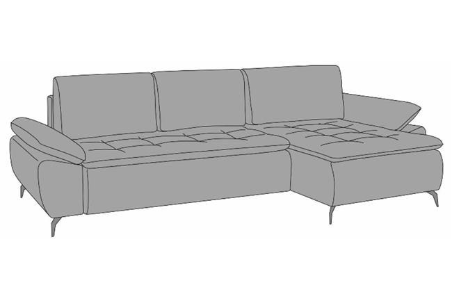 מערכת ישיבה פינתית ASPEN P - רהיטי זילבר