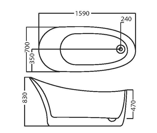 אמבטיה דגם 1901 - מרכז השרון