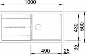 כיור מטרה 6S XL - מרכז השרון