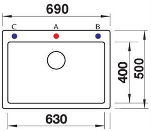 כיור פלאון 8 - מרכז השרון