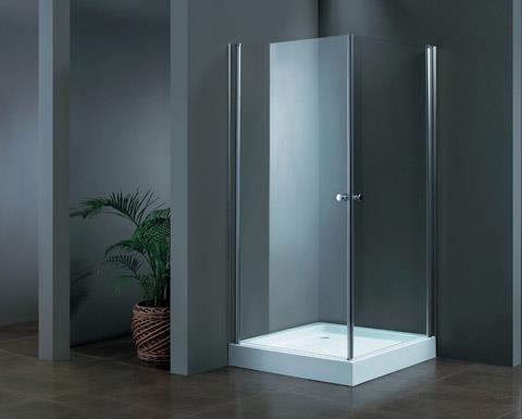 מקלחון פינתי מרובע 77-80 405 צרוב - מרכז השרון