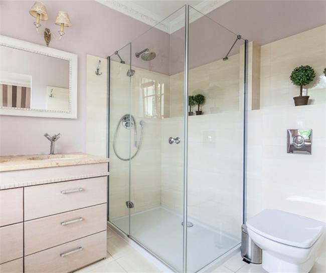 מקלחון פינתי דלת אחת - קליר תעשיות זכוכית