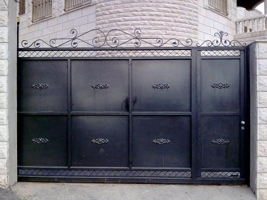 """שערים ממתכת - מסגרית הדודים בע""""מ"""