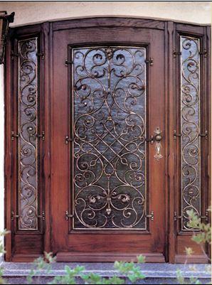 """דלת כניסה מעוצבת איכותית - מסגרית הדודים בע""""מ"""