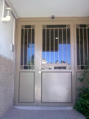 """דלת כניסה אלגנטית  - מסגרית הדודים בע""""מ"""