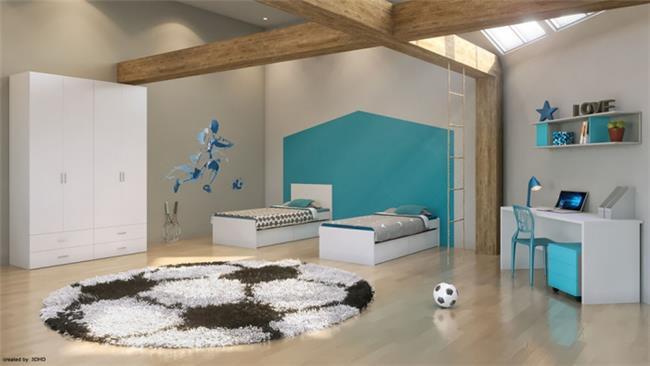 חדר ילדים דגם שחף - רהיטי דורון